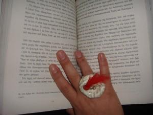 βιβλίο-δαχτυλίδι